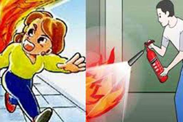 Kỹ năng thoát nạn trong các đám cháy, vụ cháy lớn
